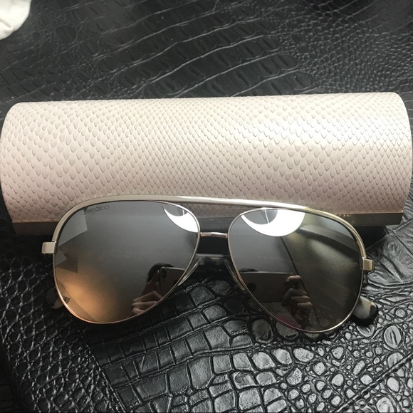 01e7c15262b4 Jimmy Choo Accessories - Brand new Jimmy Choo Lina Aviator Sunglasses